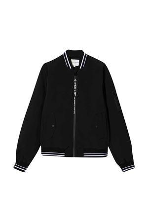 Bomber jacket with Givenchy kids press Givenchy Kids | 13 | H2607109B