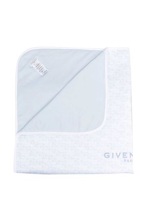 Coperta azzurra con stampa Givenchy kids Givenchy Kids | 69164127 | H90081771