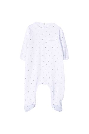 Tutina bianca con stampa Givenchy kids Givenchy Kids | 1491434083 | H9706310B
