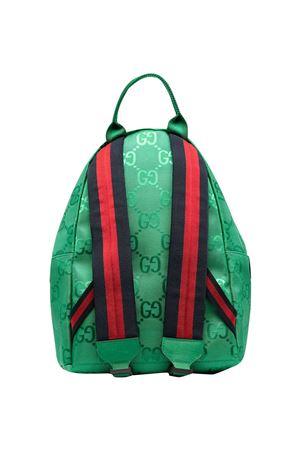 Zaino verde Gucci Kids GUCCI KIDS | 5032345 | 271327H9HRN3861