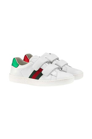 White Gucci Kids sneakers  GUCCI KIDS | 90000020 | 455448CPWP09085