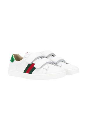 Sneakers bianche teen Gucci kids GUCCI KIDS | 12 | 455496CPWP09085T