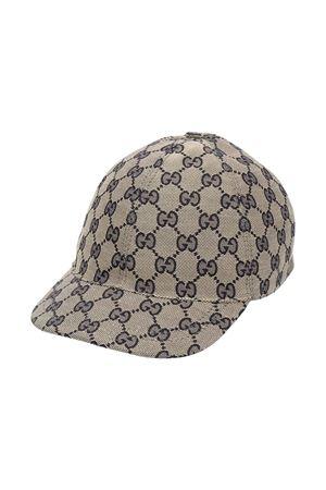 Gucci Kids gray hat  GUCCI KIDS | 75988881 | 4817743HC652168