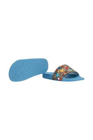Blue slippers Gucci Kids GUCCI KIDS | 5032315 | 5010692R6008919
