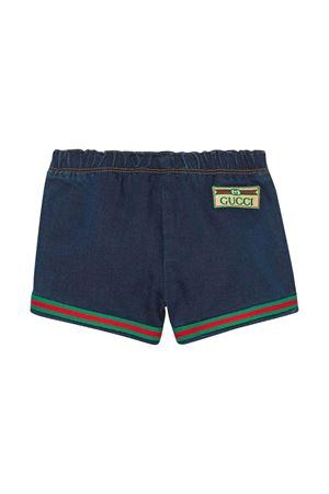 Shorts con dettaglio web Gucci kids GUCCI KIDS | 9 | 547189XJCR44206