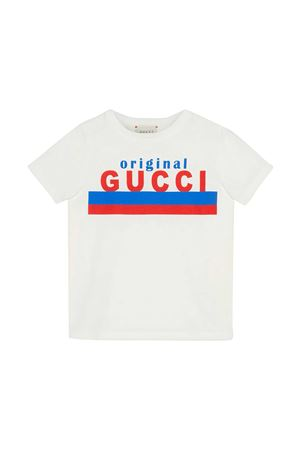 T-shirt bianca Gucci Kids GUCCI KIDS | 8 | 561651XJC7M9061