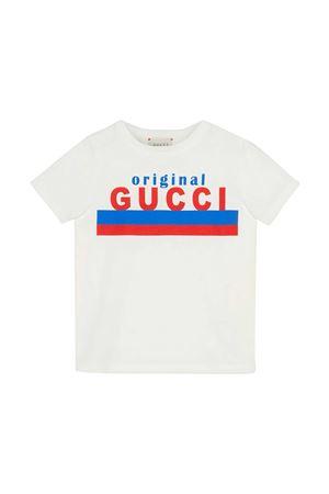 White Gucci Kids t-shirt  GUCCI KIDS | 8 | 561651XJC7M9061