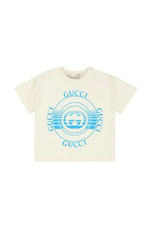 T-shirt bianca Gucci Kids GUCCI KIDS | 8 | 576871XJC7O9122