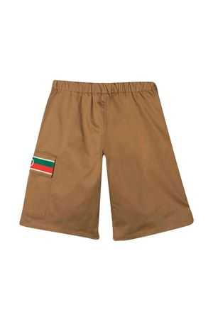 Shorts con decorazione Web Gucci kids GUCCI KIDS | 5 | 638067XWAML2002