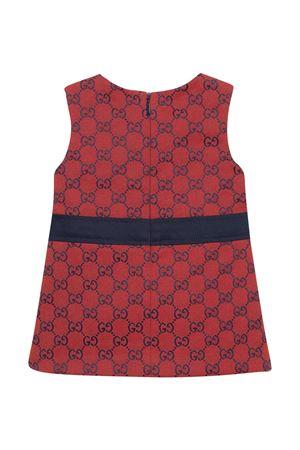 Red tress with logo print Gucci Kids GUCCI KIDS | 11 | 642017XWANH6431