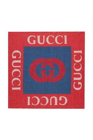 Foularde rosso e blu Gucci Kids GUCCI KIDS | -709280361 | 6455114K1014274