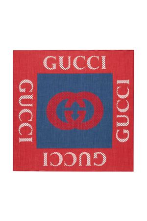 Red and blue foularde Gucci Kids GUCCI KIDS | -709280361 | 6455114K1014274