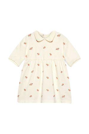 White dress with print Gucci kids GUCCI KIDS | 11 | 647009XJC869791