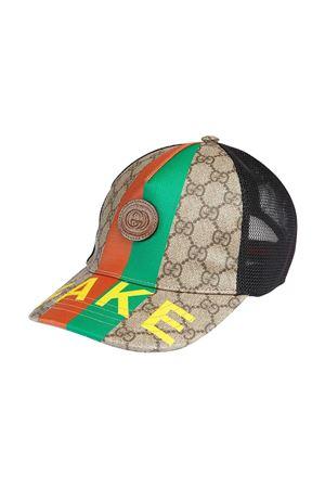 Cappello da baseball Gucci kids con logo GUCCI KIDS | 75988881 | 6528664HADP8260