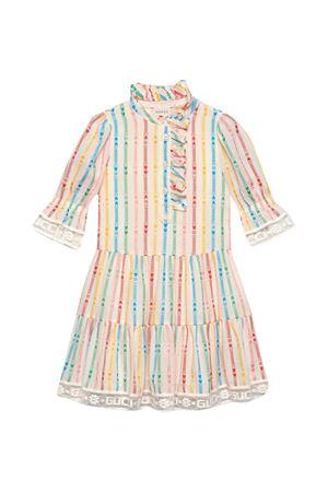 Gucci Kids striped dress GUCCI KIDS   11   653168ZAGCB9074