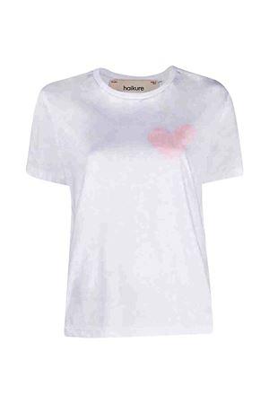 T-shirt bianca con stampa cuore Haikure HAIKURE | 8 | HEW54061TJ040PXS21T0001FP