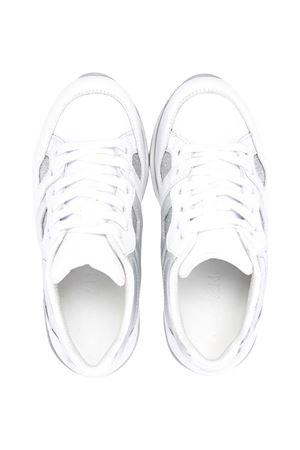 Hogan kids embossed logo sneakers HOGAN KIDS | 12 | HXC2220T548PF70906