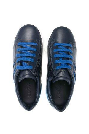 Hogan Kids blue sneakers HOGAN KIDS | 12 | HXT3400K390FH53D11
