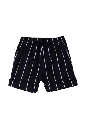 Shorts gessati con ricamo Il Gufo IL GUFO | 5 | P21PB019C1067495