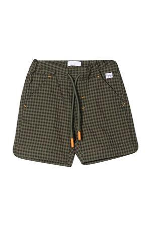 Shorts a quadretti Il Gufo IL GUFO | 5 | P21PB144C3123593