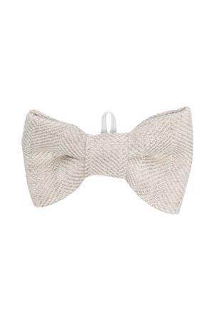 Bow tie with herringbone pattern Il Gufo IL GUFO | 964196933 | P21PH051L1012113U