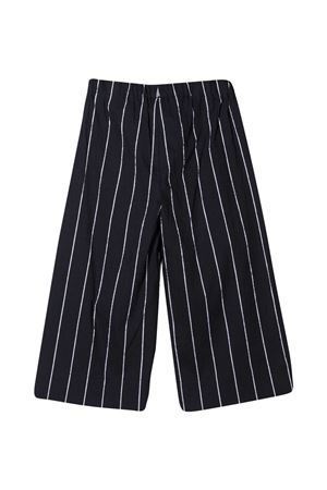 Pantaloni dritti con stampa Il Gufo IL GUFO   9   P21PR013C1067495
