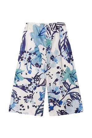 Il Gufo floral trousers IL GUFO | 9 | P21PR013C4068458