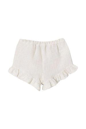 Shorts a righe con ruches Il Gufo IL GUFO | 30 | P21PS052L1012113