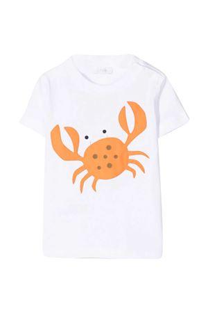 White t-shirt with Il Gufo print IL GUFO | 8 | P21TS294M00140128