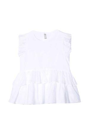 Sleeveless blouse with ruches Il Gufo IL GUFO | 40 | P21TT067C0003010