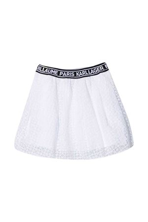 Flared teen skirt with K Karl Lagerfeld Kids embroidery Karl lagerfeld kids | 15 | Z1307210BT
