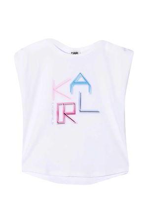 T-shirt Digi Karl con stampa Karl Lagerfeld Kids Karl lagerfeld kids | 8 | Z1529310B