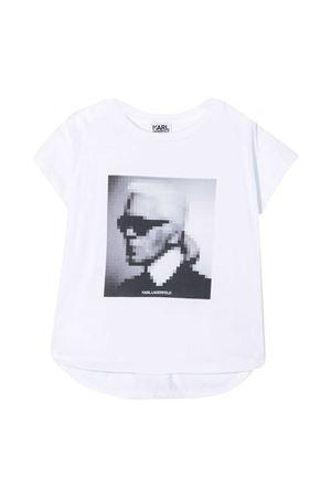 T-shirt Karl con stampa Karl Lagerfeld Kids Karl lagerfeld kids | 8 | Z1529510B