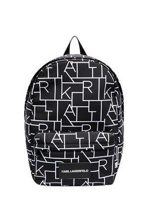 Zaino nero Karl Lagerfeld kids con applicazione Karl lagerfeld kids | 5032345 | Z2005409B