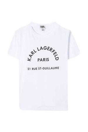 T-shirt con logo Karl Lagerfeld Kids Karl lagerfeld kids | 8 | Z2527210B
