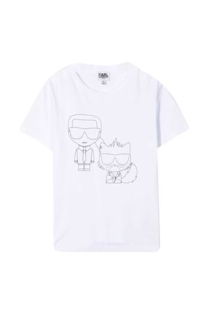 T-shirt teen K/Ikonik & Choupette Karl Lagerfeld Kids Karl lagerfeld kids | 8 | Z2527310BT