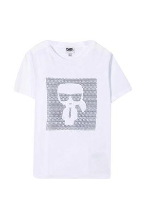 T-shirt K/Ikonik con stampa Karl Lagerfeld Kids Karl lagerfeld kids | 8 | Z2527710B