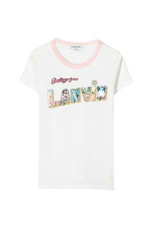 T-shirt bianca Lanvin Enfant Lanvin enfant   8   N15020117