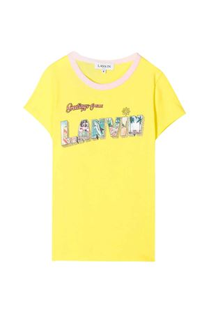 T-shirt gialla Lanvin Enfant Lanvin enfant | 8 | N15020553