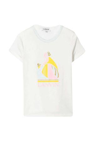 T-shirt with Lanvin Enfant print Lanvin enfant   8   N15021117