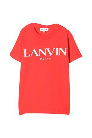 T-shirt rossa LANVIN Enfant Lanvin enfant   8   N25024997