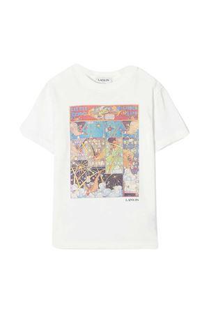 T-shirt bianca teen LANVIN Enfant Lanvin enfant   8   N25028117T
