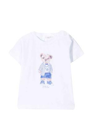 White Le Bebé Enfant Teddy Bear t-shirt Le bebè | 8 | LBB3069SETA