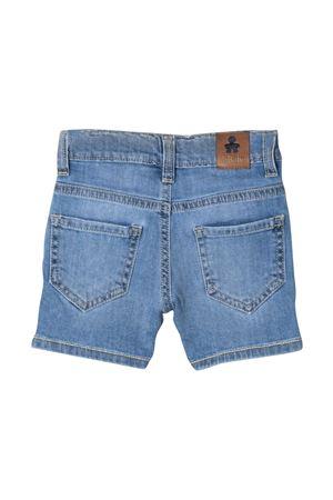 Shorts denim con ricamo Le bebè Le bebè | 5 | LBB3081BLU