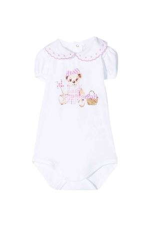 Body Teddy Bear con stampa Le Bebè Le bebè | 32 | LBG3406SETA