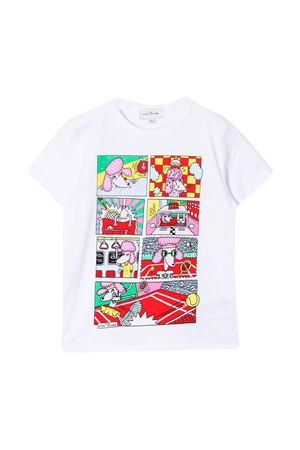 T-shirt bianca con stampa Little Marc Jacobs kids Little marc jacobs kids | 8 | W1554710B