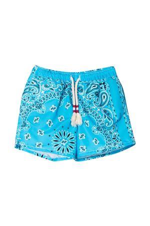 Costume fondo azzurro con stampa Mc2 Saint Barth kids MC2 SAINT BARTH KIDS | 85 | CAP0003BNDR30