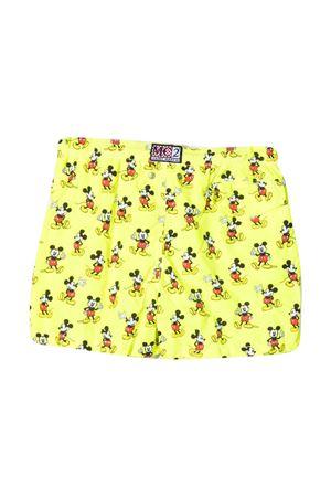 Costume teen da bagno Mickey Mouse con stampa Mc2 Saint Barth Kids MC2 SAINT BARTH KIDS | 85 | JEA0004MILO94T