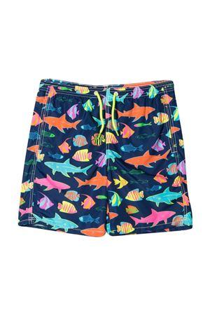 Pantaloncini da bagno con stampa grafica per teenager Mc2 Saint Barth Kids MC2 SAINT BARTH KIDS | 85 | JEA0004SOSE61T