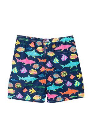 Shorts da bagno con stampa grafica Mc2 Saint Barth Kids MC2 SAINT BARTH KIDS | 85 | JEA0004SOSE61